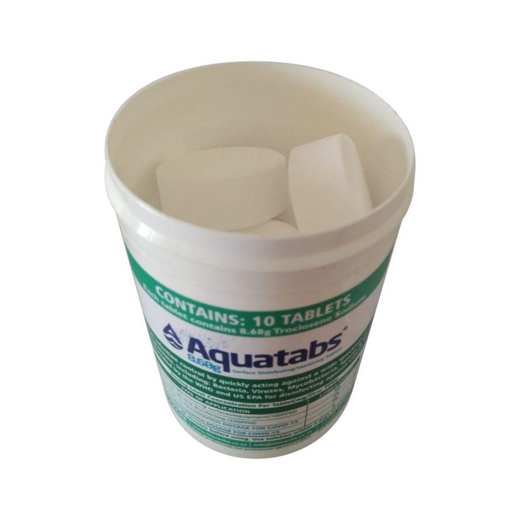Aquatabs 8.68g Tub - Sanitiser 2