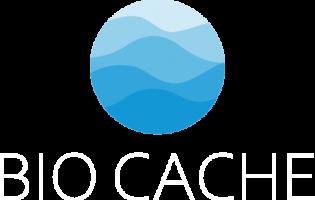 Bio Cache Logo White